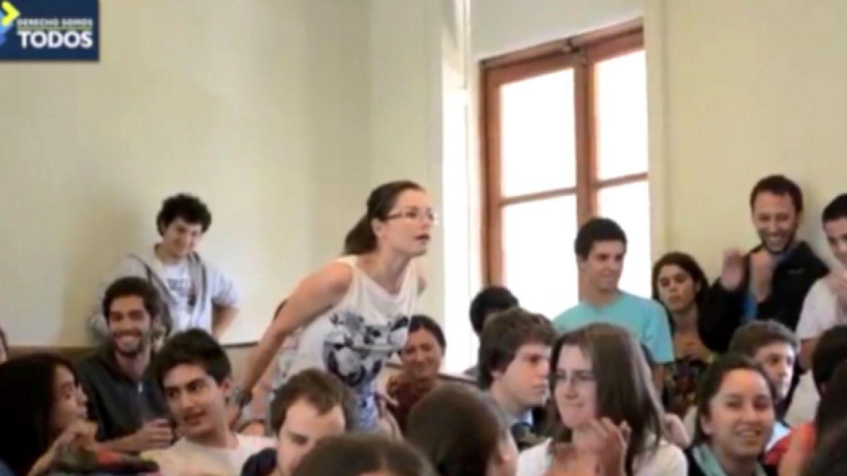 Navarro e incidente en la UC: Es una niña joven y que tenga una casa para regalarla es significativ