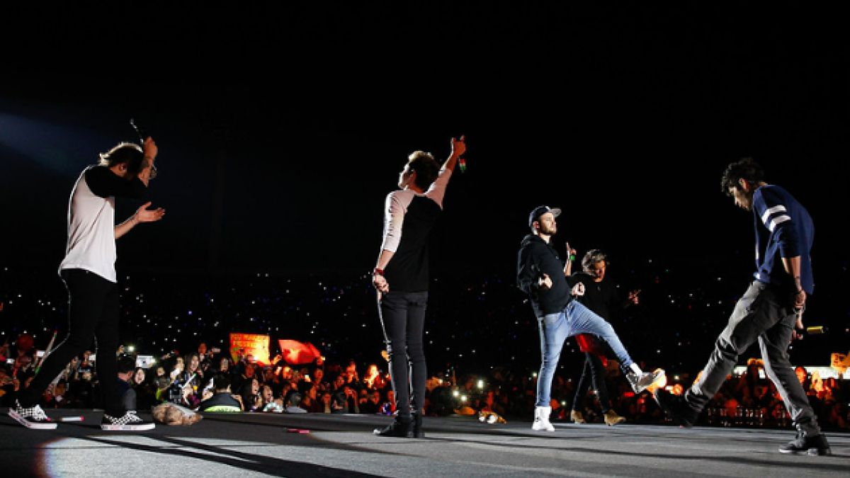 One Direction tuvo un enérgico debut en Chile