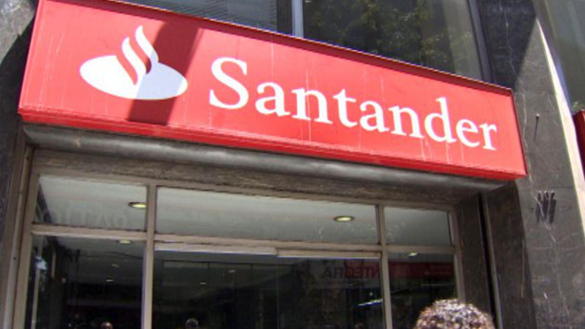 Banco Santander prevé cerrar el 13% de sus sucursales en España