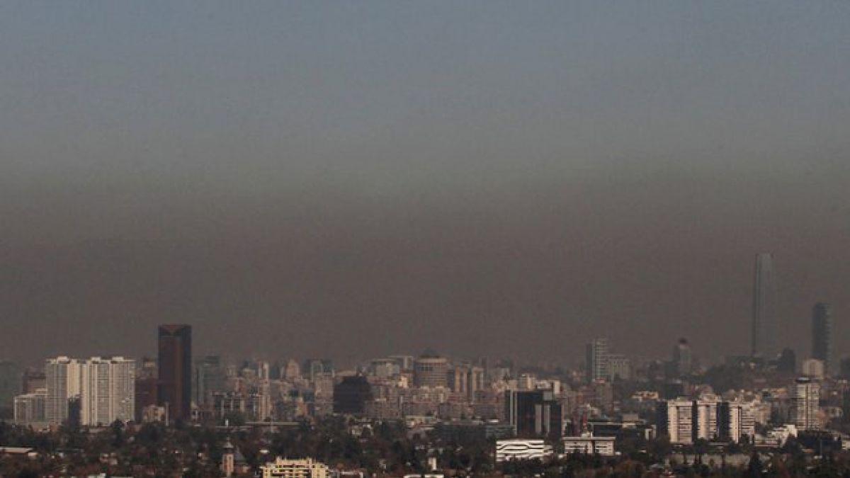 Intendencia decreta novena alerta ambiental preventiva del año en Santiago