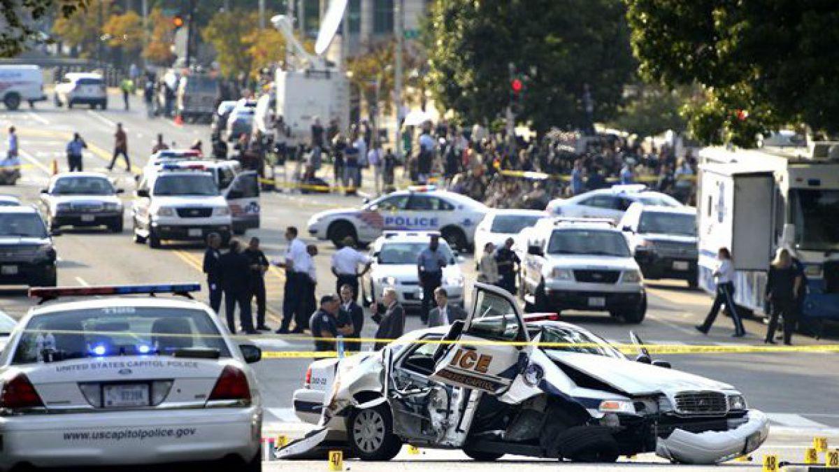 Descartan ataque terrorista frente al Capitolio y reabren edificio