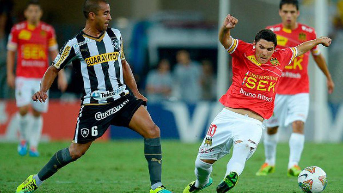 U. Española venció a Botafogo y se mete en los octavos de la Libertadores