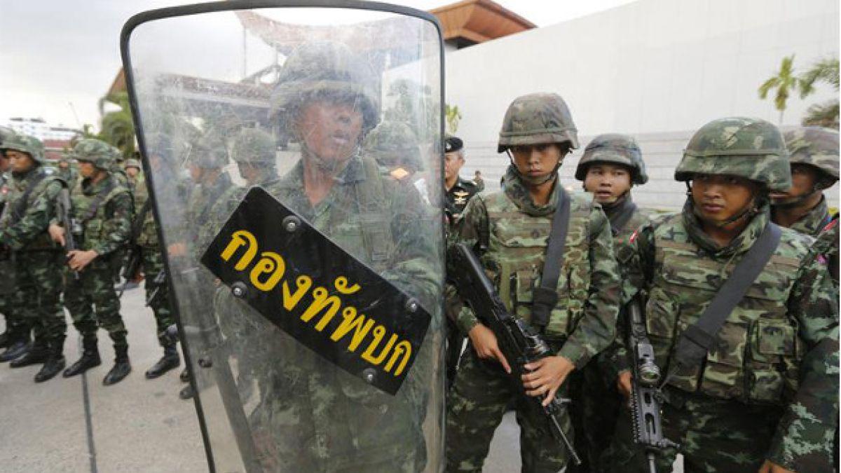 Golpe de estado en Tailandia