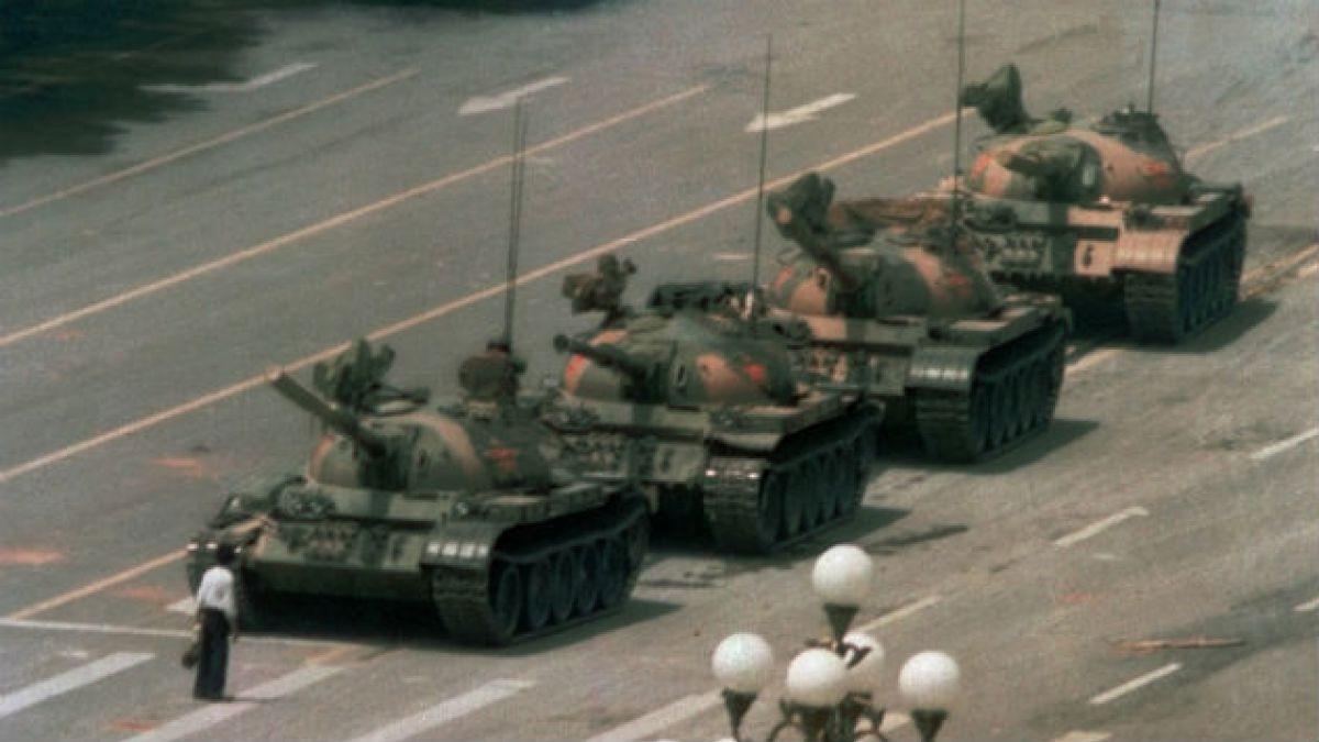 12 fotos de las protestas en la Plaza de Tiananmen que China quiere olvidar