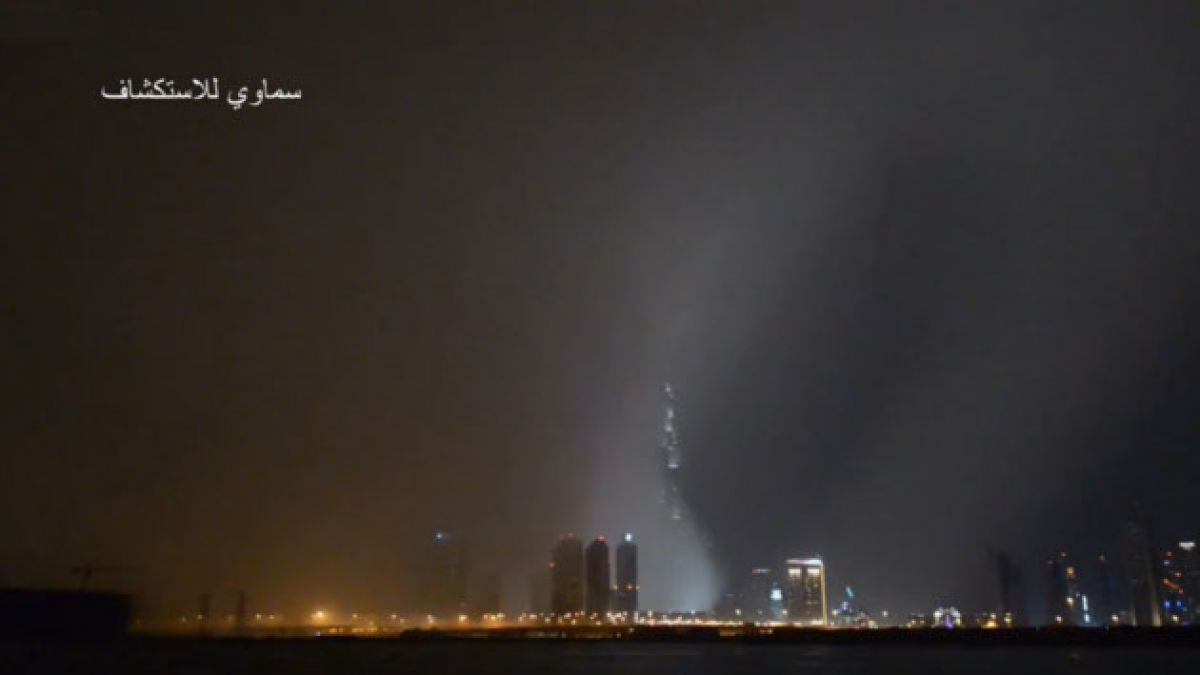 (VIDEO) Tormenta cubre por completo a Dubai