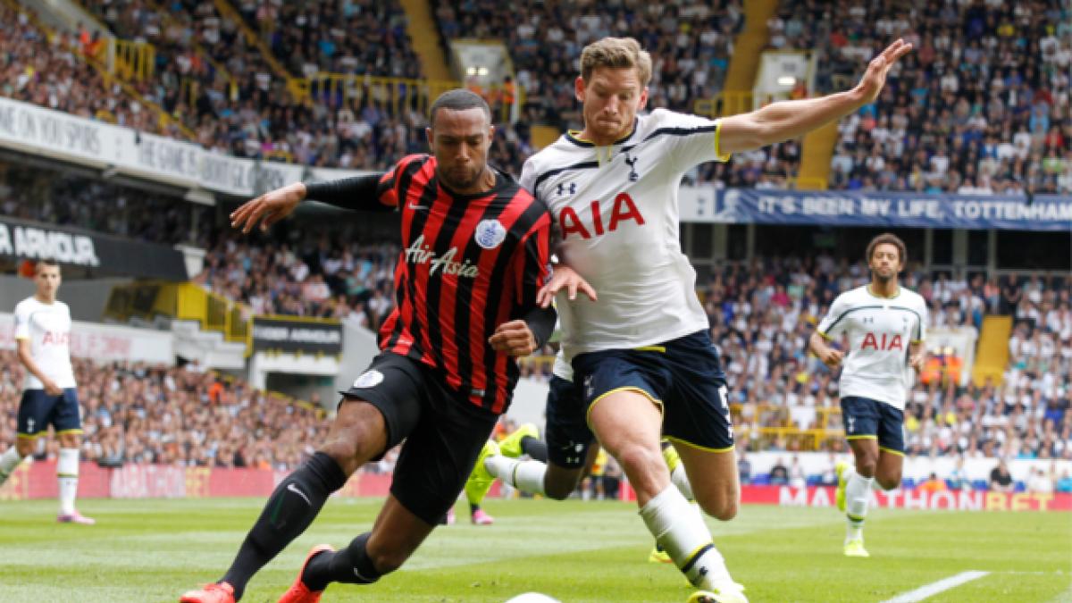 Queens Park Rangers de Edu Vargas cae por goleada ante el Tottenham