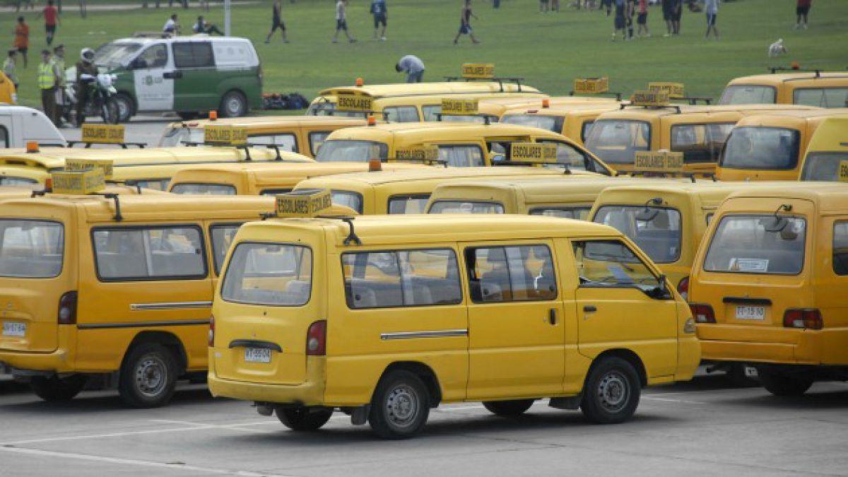 Plan de descontaminación contempla medidas para el transporte escolar
