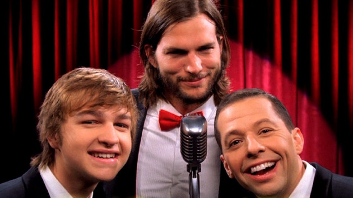 Anuncian final de serie Two and a Half Men