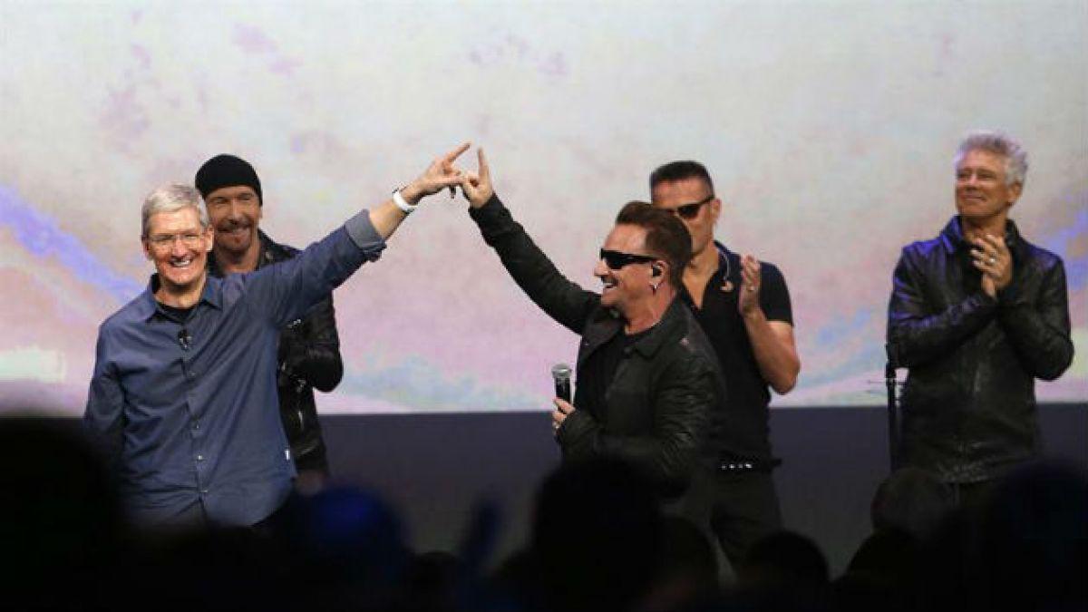 U2 y Apple trabajan en proyecto secreto que puede salvar la industria musical