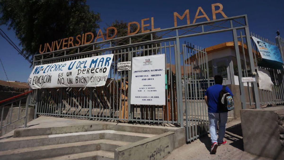 Vocero de estudiantes de la U. del Mar: El administrador provisional garantizará el derecho a la ed