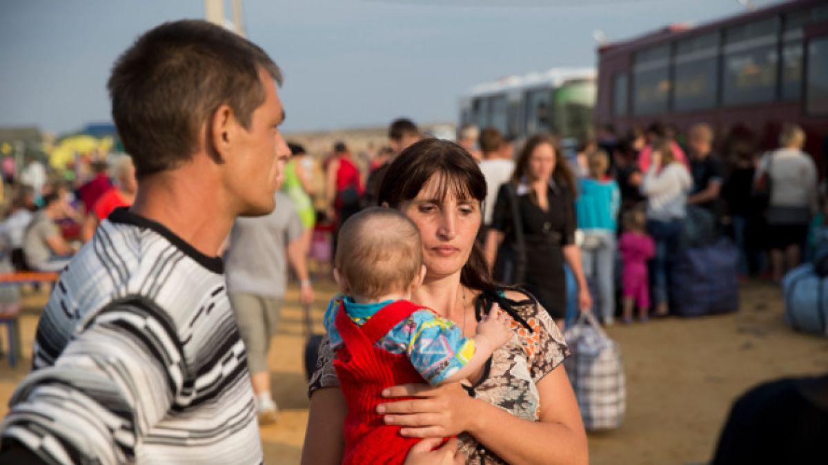 Ucrania acusa a separatistas pro-rusos de atacar a civiles escapando de una ciudad rebelde