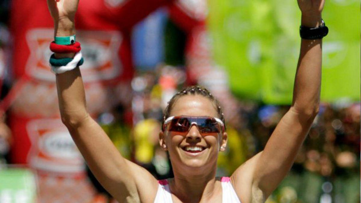 Valentina Carvallo finalizó sexta en el Ironman de Racine en EE.UU.