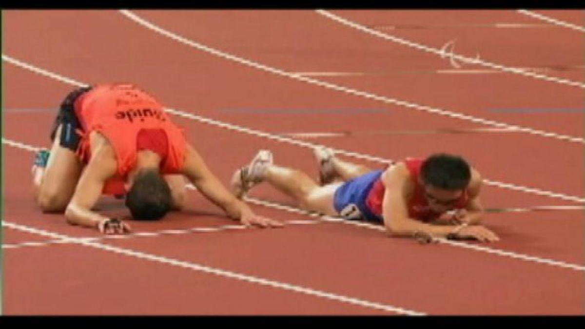 Atleta paralímpico chileno revalidó su título en Francia