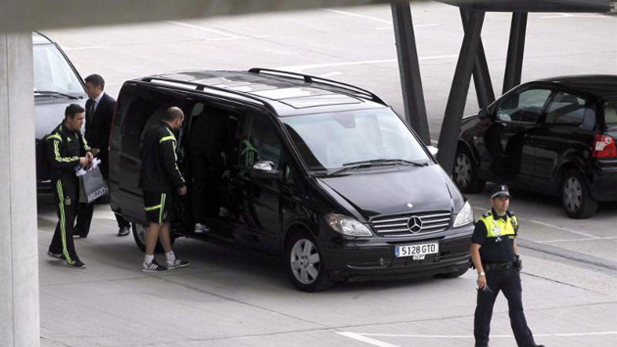 Susto en la selección española tras rayo que impactó en avión antes de arribar a Madrid