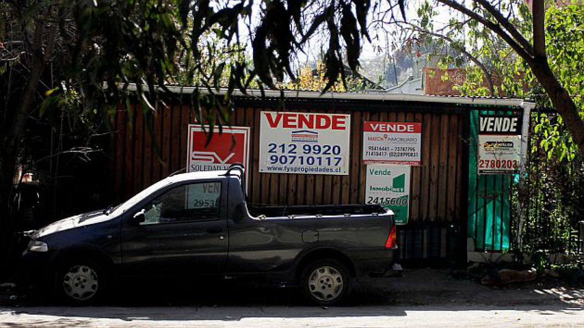 Ventas de viviendas en el Gran Santiago caen 3,8% durante los primeros ocho meses del año