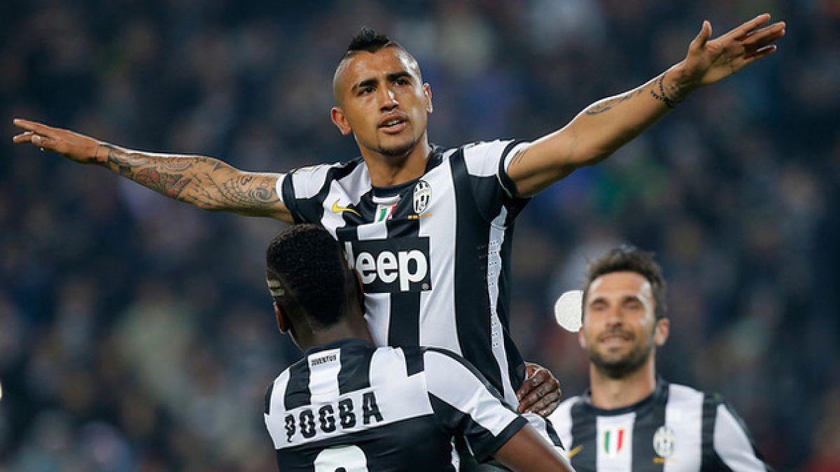 Arturo Vidal vuelve a ser considerado para duelo de Juventus por la Serie A