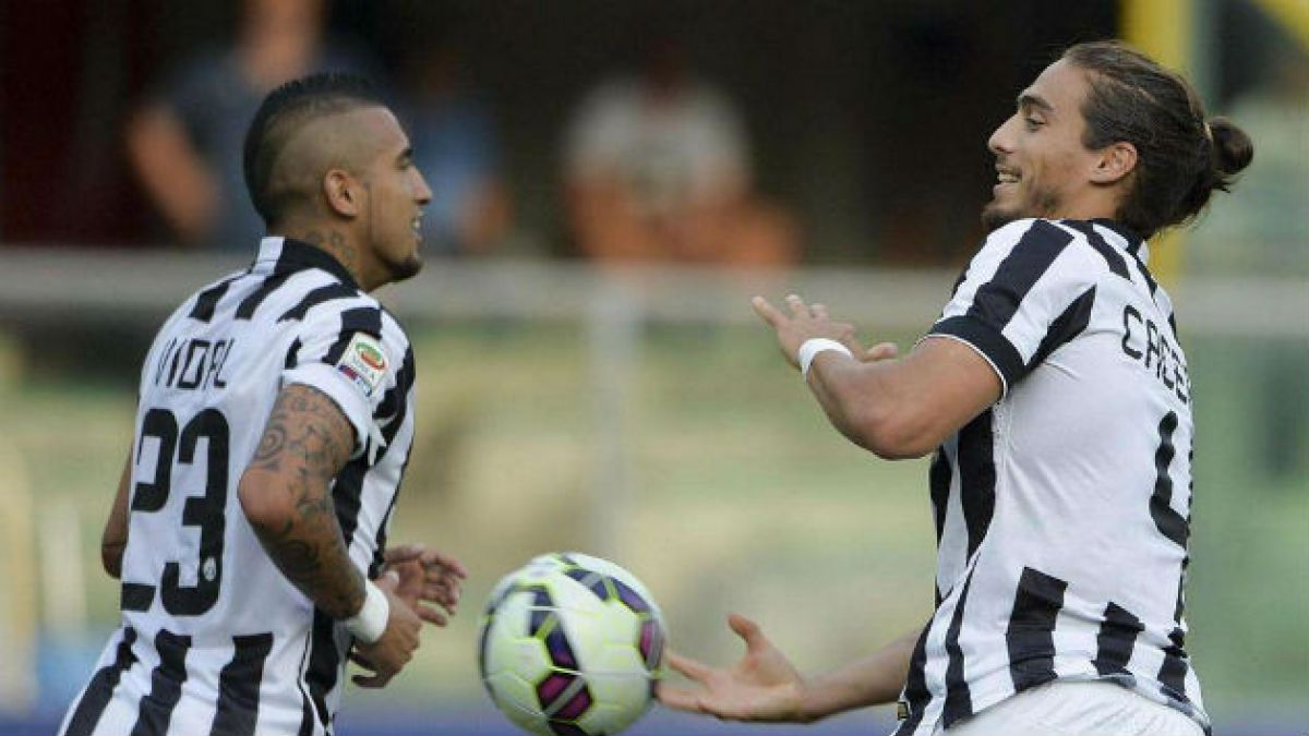 Juventus y Vidal inician con un triunfo la temporada 2014-2015