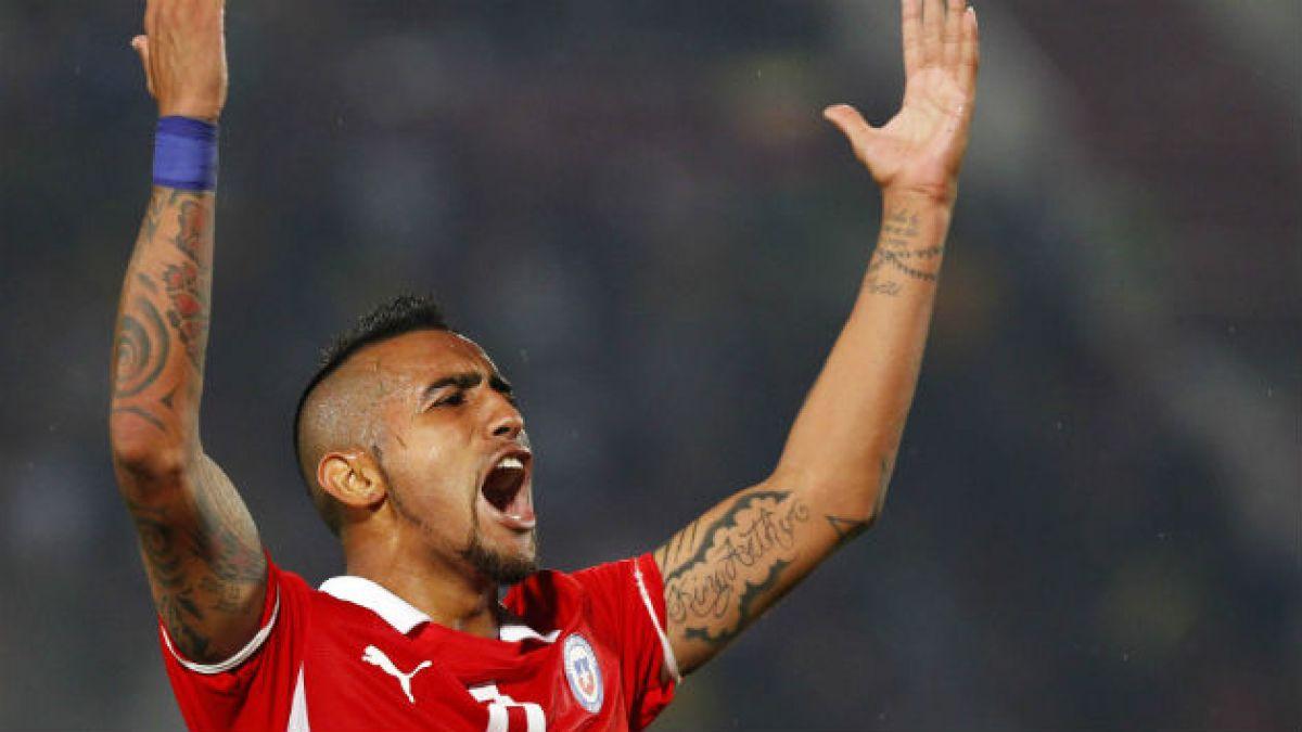 Ranking de jugadores en Twitter: Vidal es el más popular; Rojas, el más criticado