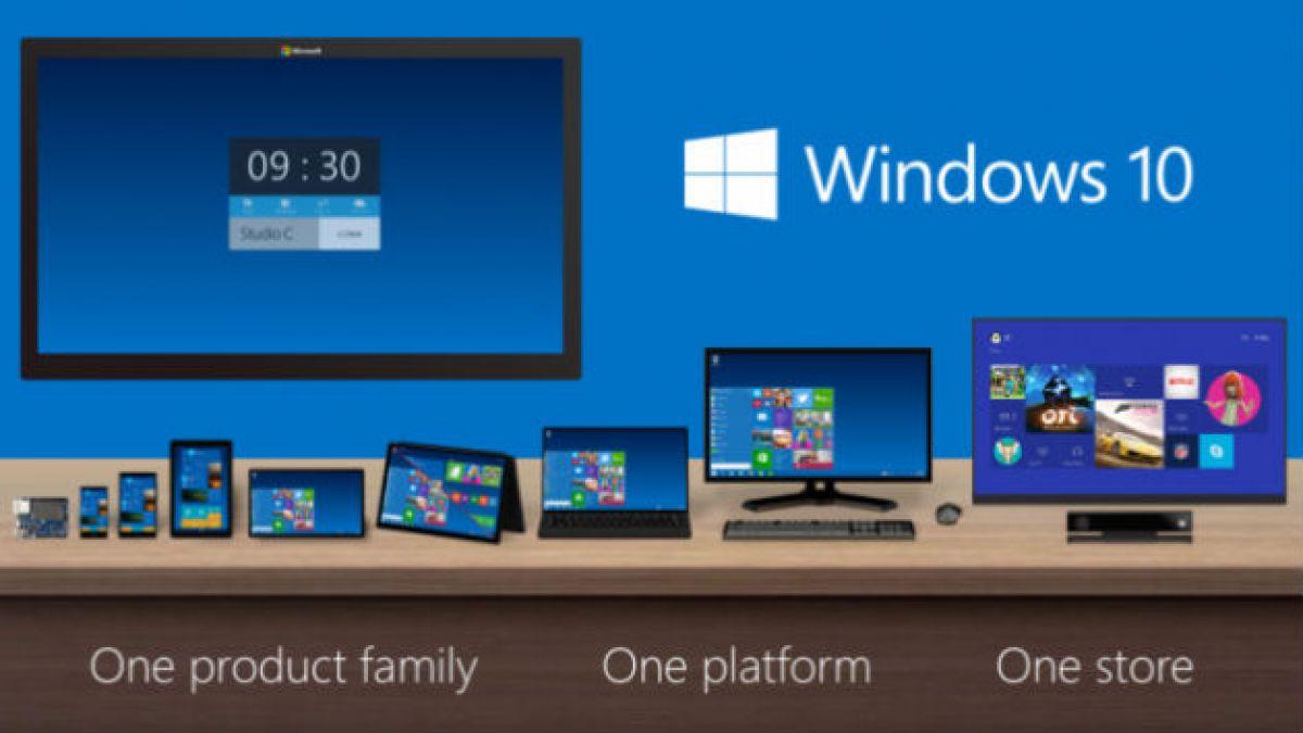 Microsoft anuncia Windows 10