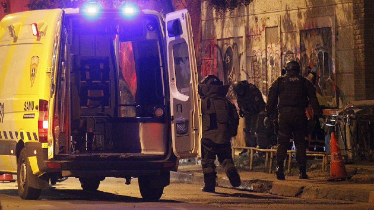 Robos y porte de drogas entre antecedentes de muerto por bombazo en Barrio Yungay
