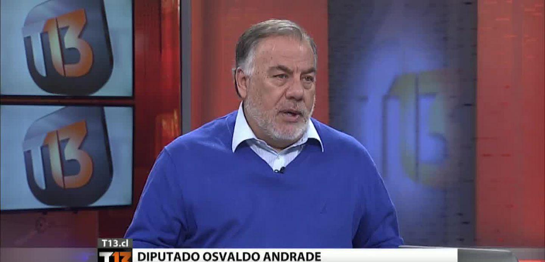 [T13] ¿Cuánto trabajan los diputados? Se abre debate por polémicas declaraciones de Andrade