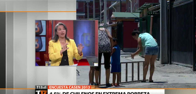 Ministra Villegas y Casen: \