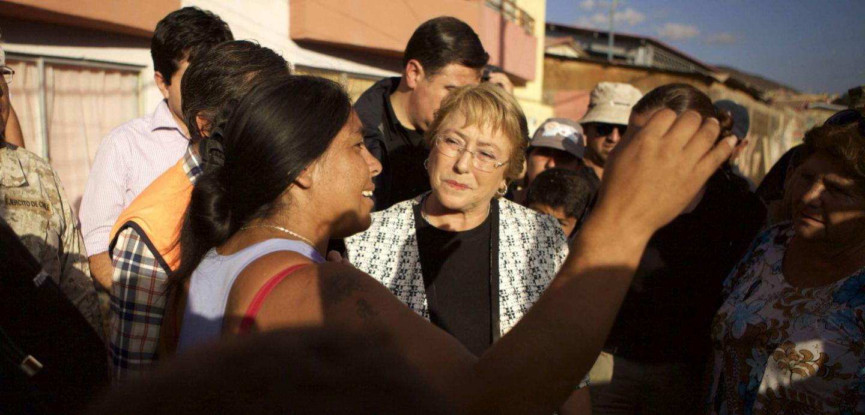 Bachelet: El desastre del norte, la virtud o la mala fortuna