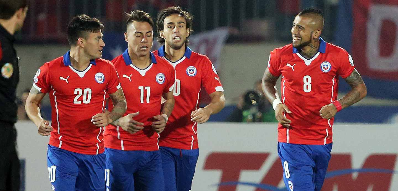 Selección chilena en Copa América