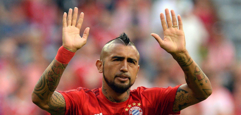[MINUTO A MINUTO] Arturo Vidal es titular en el Bayern frente a Hamburgo por la Bundesliga