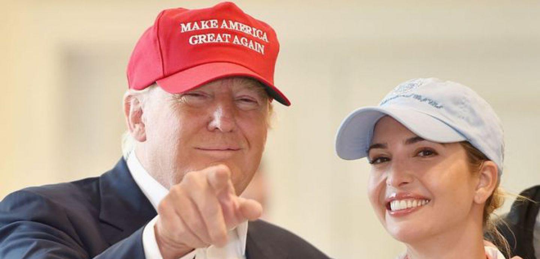 Trump se apoyó en su hija Ivanka para mostrarse como candidato preocupado por los derechos laborales de las mujeres.