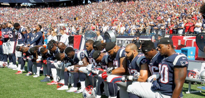 La larga rivalidad de Trump contra la NFL