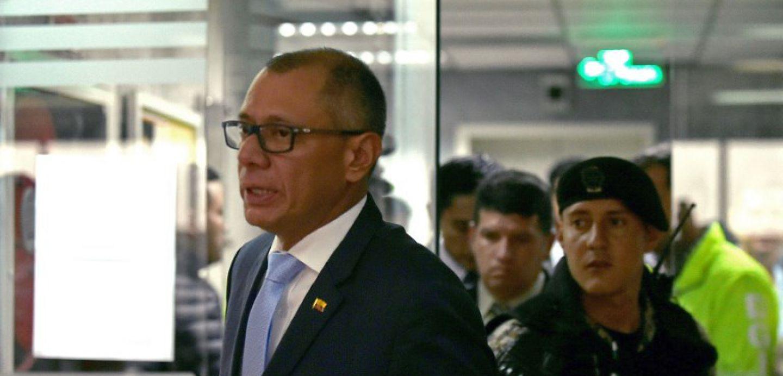 Vicepresidente de Ecuador condenado a 6 años de cárcel por caso Odebrecht