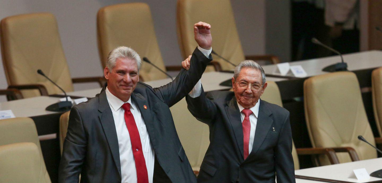 [VIDEO] Díaz-Canel tras asumir como Presidente de Cuba: Seremos fieles a Fidel Castro
