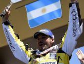 [FOTOS] Pablo Quintanilla se emociona en ceremonia de premiación del Rally Dakar