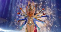 Cecilia Bolocco hizo un show especial en el trasnoche