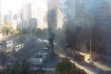 Incendio genera corte parcial de luz en Las Condes, Vitacura y Providencia