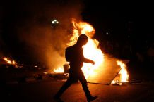 Diversos incidentes marcaron el cierre de la marcha estudiantil