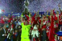 [VIDEO] Revive un momento histórico: Bravo levanta la Copa América Chile 2015