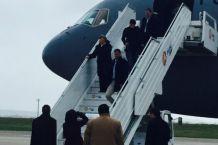 Michelle Bachelet llega a París para participar de Cumbre del Cambio Climático