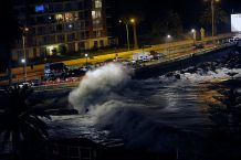 Anuncian nuevas marejadas en las costas del país desde el sábado