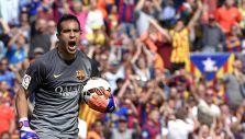 El nuevo récord que consiguió Claudio Bravo este sábado en FC Barcelona