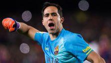 Claudio Bravo es suplente en la última fecha de la Liga española