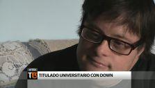 Joven con Síndrome de Down logra título universitario en España