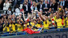 Así celebró Alexis el título de la FA Cup con el Arsenal