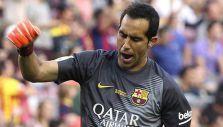 [VIDEO] La increíble tapada de Claudio Bravo en el triunfo del Barcelona ante Levante