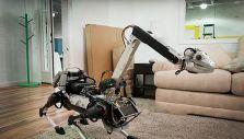 [VIDEO] El robot que se asemeja a un animal y que puede hacer las tareas del hogar