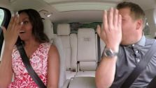 "Michelle Obama se lució en ""Carpool karaoke"""