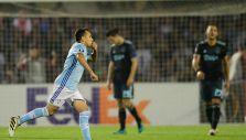 [VIDEO] El golazo de Fabián Orellana que significó el empate del Celta en Europa League