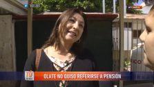 [VIDEO] Ex esposa de Osvaldo Andrade no quiso referirse a su pensión tras asistir a votar
