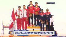 [VIDEO] Tierra de campeones: La gran actuación de Chile en los Juegos Bolivarianos de Playa